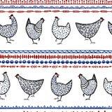 Картина цыпленка вектора Стоковые Фото