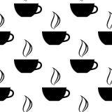 Картина чашек кофе Иллюстрация вектора