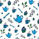Картина чая Стоковое Изображение