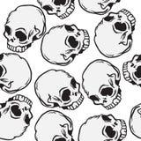 Картина черепа Стоковое фото RF