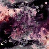 Картина чернил или акварели на текстуре бумаги grunge бесплатная иллюстрация