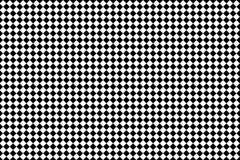 Картина черного квадрата на белой предпосылке Стоковая Фотография