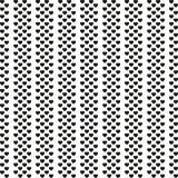 Картина черного сердца безшовная на белом векторе предпосылки Минималист тип бесплатная иллюстрация