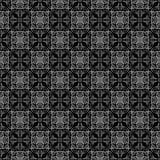 Картина черной магии безшовного конспекта винтажная темная иллюстрация вектора