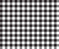 Картина черной предпосылки ткани таблицы безшовная Стоковые Фото