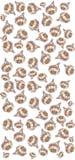Картина шарика чеснока стоковая фотография