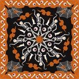 Картина шарфа Стоковые Изображения