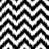 Картина шевронной ткани безшовная Стоковое фото RF