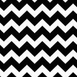 Картина шевронов черно-белая безшовная Стоковое Фото