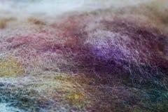 Картина шерстей Стоковая Фотография