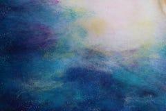 Картина шерстей Стоковые Изображения