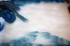 Картина шерстей Стоковое Фото