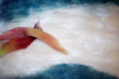 Картина шерстей Стоковое фото RF