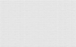 Картина шестиугольника вектора безшовная, предпосылка сотов черно-белая иллюстрация вектора