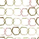 Картина шестиугольника минимальная Стоковые Изображения RF