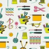 Картина шить и needlework Стоковые Фото