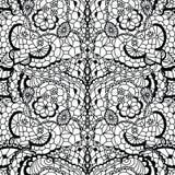 картина шнурка цветков безшовная Стоковое фото RF