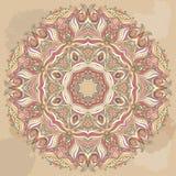 Картина шнурка Doily вектора круглая иллюстрация круга предпосылки применений много полезный вектор бесплатная иллюстрация