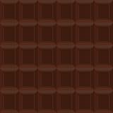картина шоколада безшовная Текстура вектора сладостно-горького ch бесплатная иллюстрация