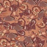 Картина шоколада Стоковая Фотография