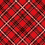 Картина шотландки буйвола Безшовная печать текстуры ткани иллюстрация штока