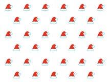 Картина шляпы Санта Клауса Стоковое Изображение RF