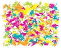Картина щетки масла абстрактная иллюстрация штока