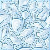 Картина льда безшовная Стоковые Фото