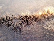 Картина льда Стоковое Изображение