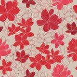 Картина экзотических тропических цветков безшовная иллюстрация штока