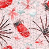 Картина экзотической геометрии безшовная Стоковая Фотография