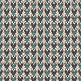 Картина этнического стиля безшовная с повторенными диамантами Предпосылка коренных американцев Племенной мотив Эклектичные обои бесплатная иллюстрация