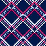 Картина этнического boho безшовная шнурок орнамент традиционный предпосылка геометрическая картина соплеменная Фольклорный мотив бесплатная иллюстрация
