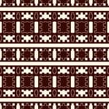 Картина этнического soutline стиля eamless Предпосылка коренных американцев абстрактная Племенной мотив Бумага Boho шикарная цифр иллюстрация штока