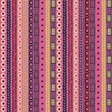 Картина этничности безшовная Стиль Boho этнические обои Племенная печать искусства Старый конспект граничит текстуру предпосылки Стоковое фото RF