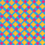 Картина элегантного colorpop безшовная Яркое приглашение цветов Карточка Справочная информация ретро Бумажная печать Дизайн ткани Стоковое Изображение RF