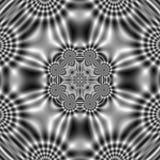 Картина электрического поля с абстрактными волнистыми формами иллюстрация вектора