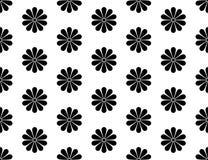 Картина японского вектора хризантемы Kiku флористического безшовная иллюстрация вектора