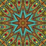Картина ярких звезд безшовная Стоковая Фотография RF
