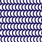 Картина яркого контраста ретро геометрическая Стоковая Фотография RF