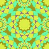 Картина яркой мозаики безшовная Стоковое Изображение RF