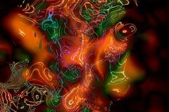 картина 031 абстракции Стоковое Фото