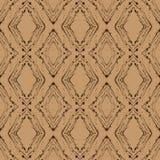 Картина argyle вектора год сбора винограда, безшовная предпосылка Стоковые Фото