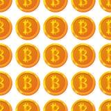 Картина Bitcoin Стоковые Изображения RF