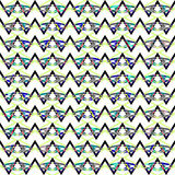 Картина Boho геометрическая Стоковая Фотография