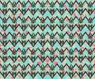 Картина Boho геометрическая Стоковые Изображения RF
