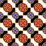 картина checkerboard безшовная Стоковые Изображения