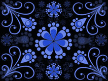 Картина Curlicue Стоковое фото RF