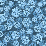 Картина 3D снежинок close snow texture up white зима белизны снежинок предпосылки голубая снежности Стоковое Фото
