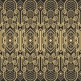 Картина deco абстрактного искусства безшовная иллюстрация штока
